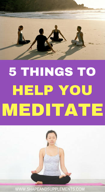 5 things to help you meditate