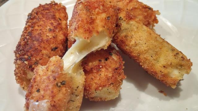 keto diet mozzarella sticks