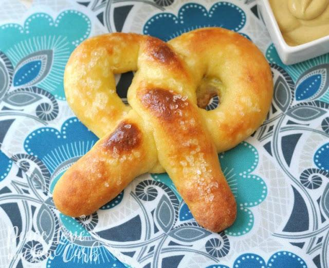 keto diet soft pretzel