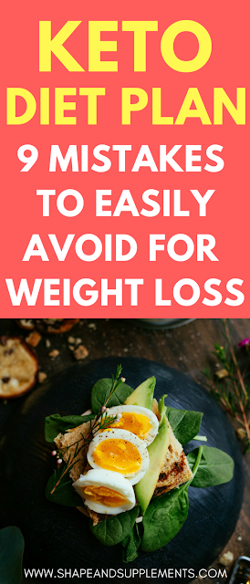 9 mistakes to avoid on a keto diet plan
