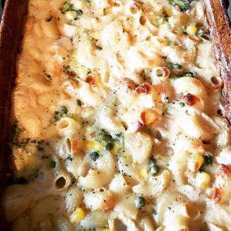 Image of vegan mac n cheese