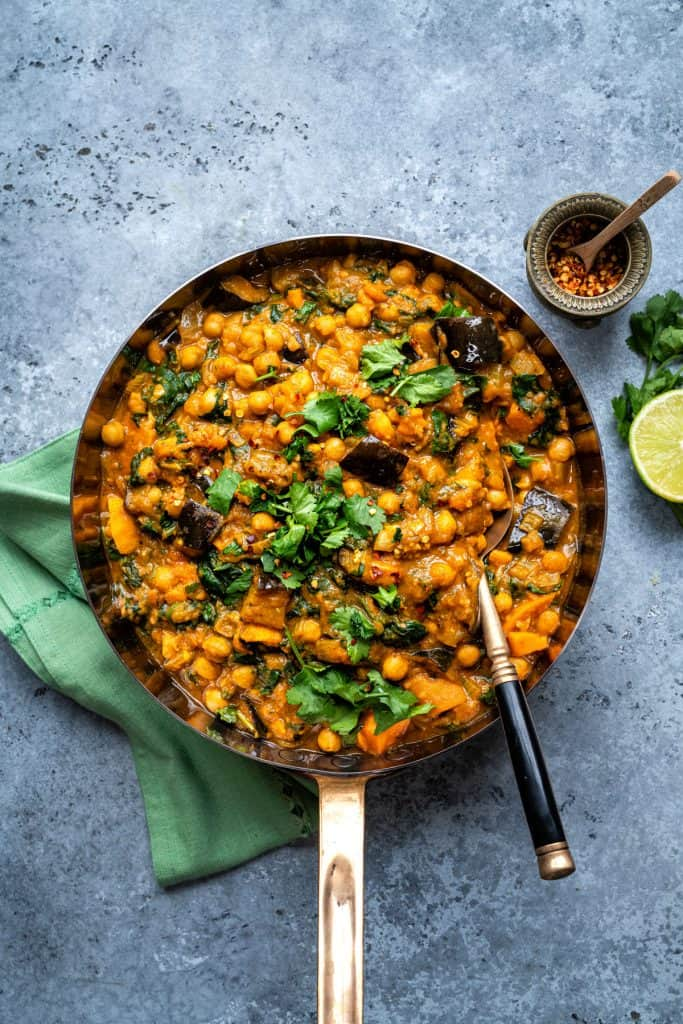 Image of vegan curry
