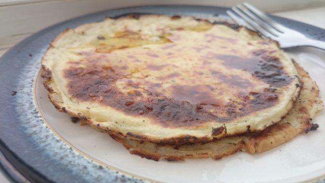Image of vegan pancakes