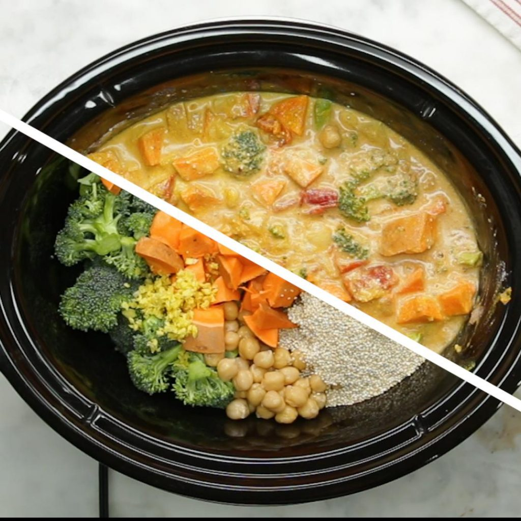 Image of coconut curry recipe